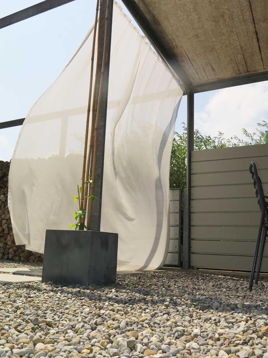 Aufhängesystem für OutdoorVorhänge [StahlErsatzSeil
