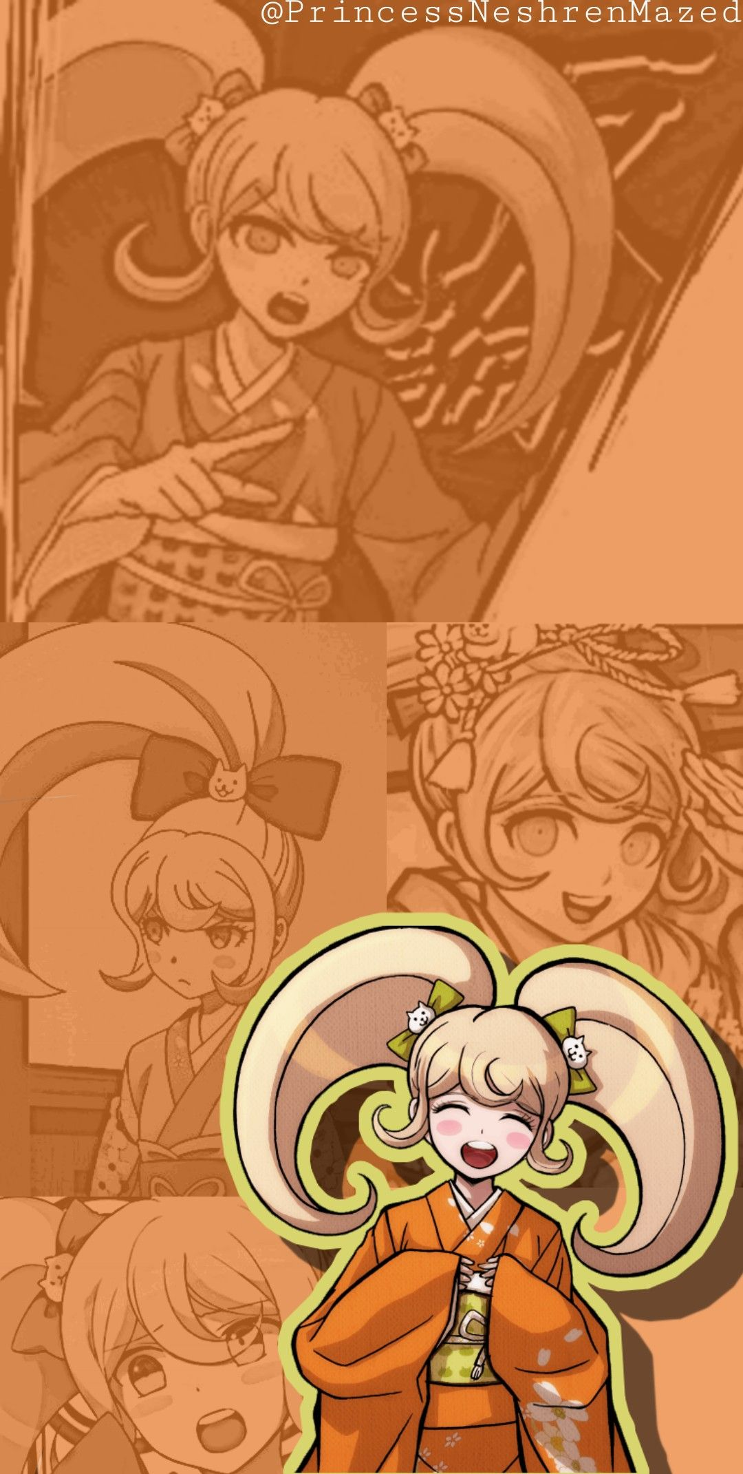Hiyoko Saionji Wallpaper Anime Wallpaper Danganronpa Aesthetic Anime