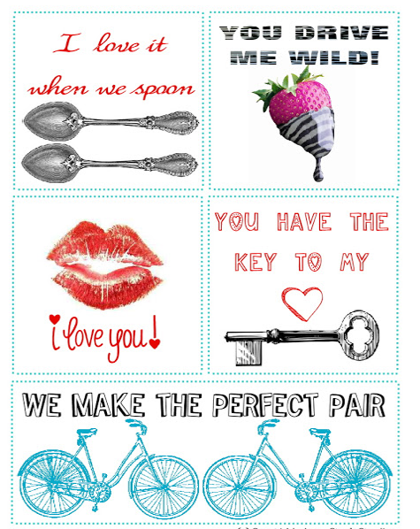 Free Printable Valentineu0027s Day Love Notes From Jones Creek Creations,  Featured At Printabledecor.net