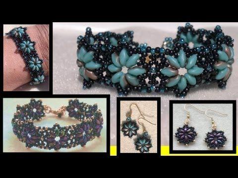 Free Seed Bead Bracelet Patterns - http://www.guidetobeadwork.com/wp/2013/05/free-seed-bead-bracelet-patterns-4/