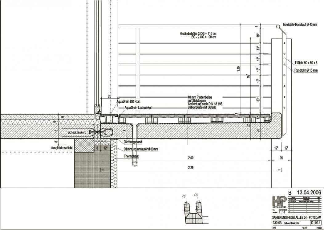 Berühmt Image result for balcony section detail | FINISHING DETAILS OK26