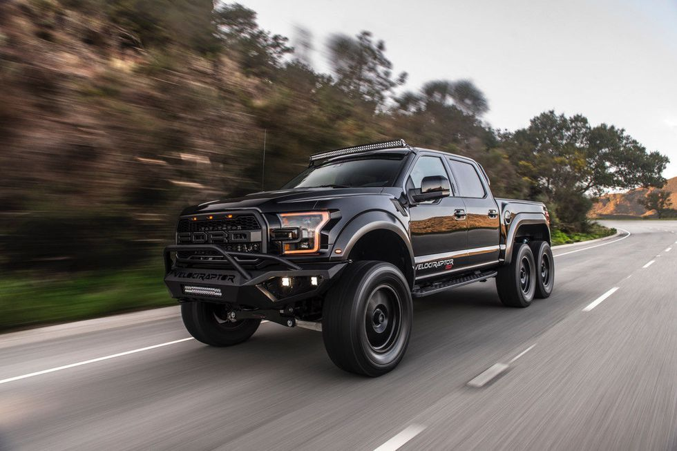 There S A Ford Raptor Based Hennessey Velociraptor 6x6 For Sale On