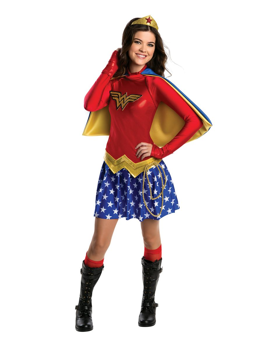Wonder Woman Tween Costume exclusively at Spirit Halloween - Take ...