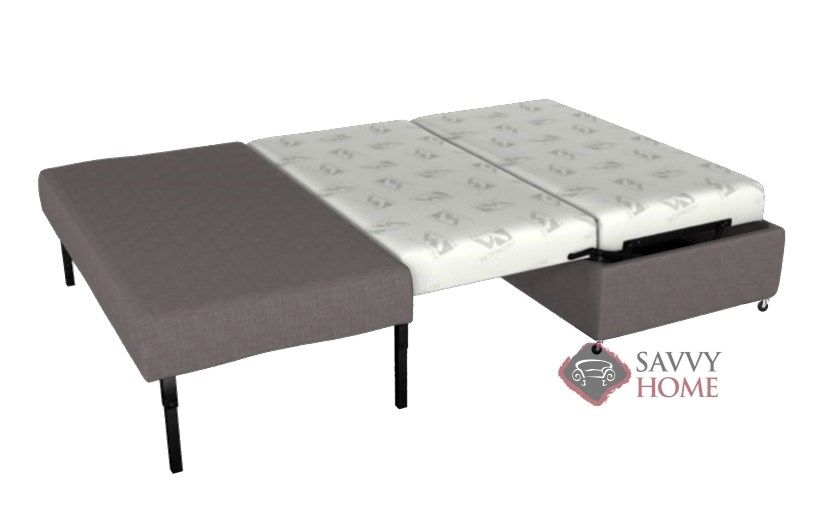 Pelham Paragon Full Ottoman Sleeper By Lazar Industries In Dumdum Platinum