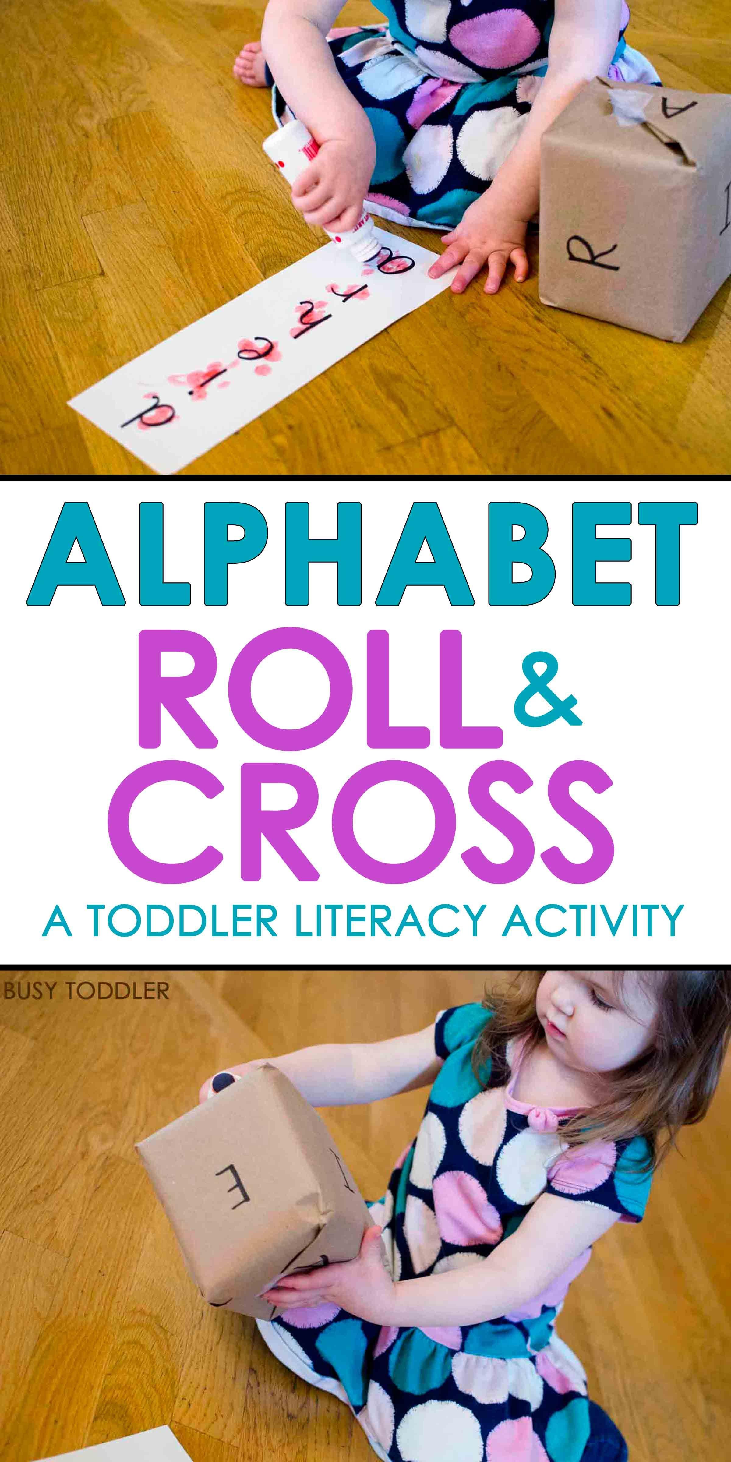 The Most Fun Alphabet Game Preschool activities