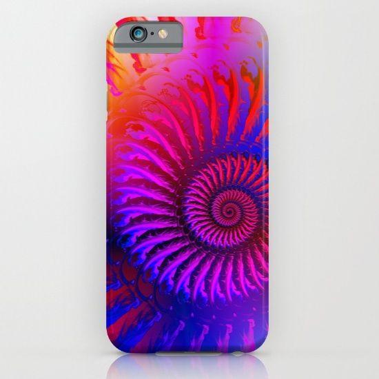 Rainbow Psychedelic Hippie Fractal Art iPhone