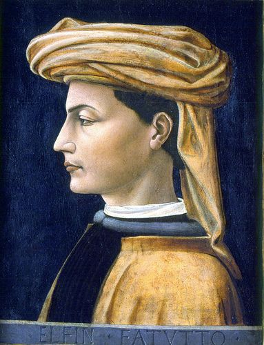 Domenico Veneziano (formerly attributed to Paolo Uccello), Portrait of a young man, 1441, Chambéry, Musée des Beaux-Arts