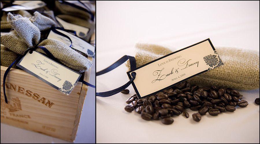 Merci Beaucoup wedding favors houston CoffeeF CoffeeF White
