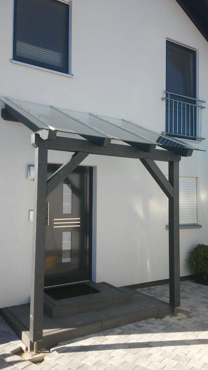 Vordcher Aus Holz. Vordach Fr Einen Eingang With Vordcher Aus Holz. Simple Aus H... #thegreatoutdoors
