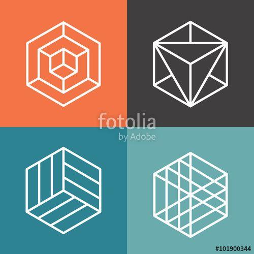 Image result for geometric logos | Beauty School Rocks: Brand Look ...