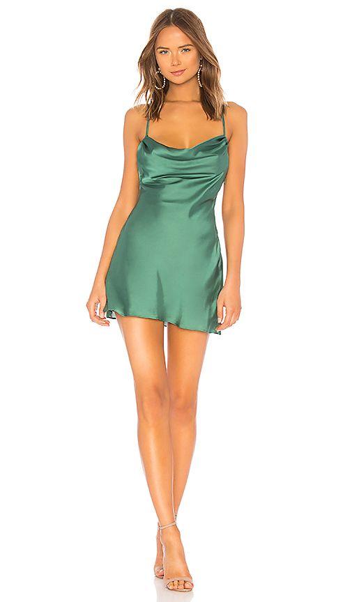2fe1198bbd3 Lovers + Friends Boa Mini Dress in Green | REVOLVE | Dresses in 2019 ...