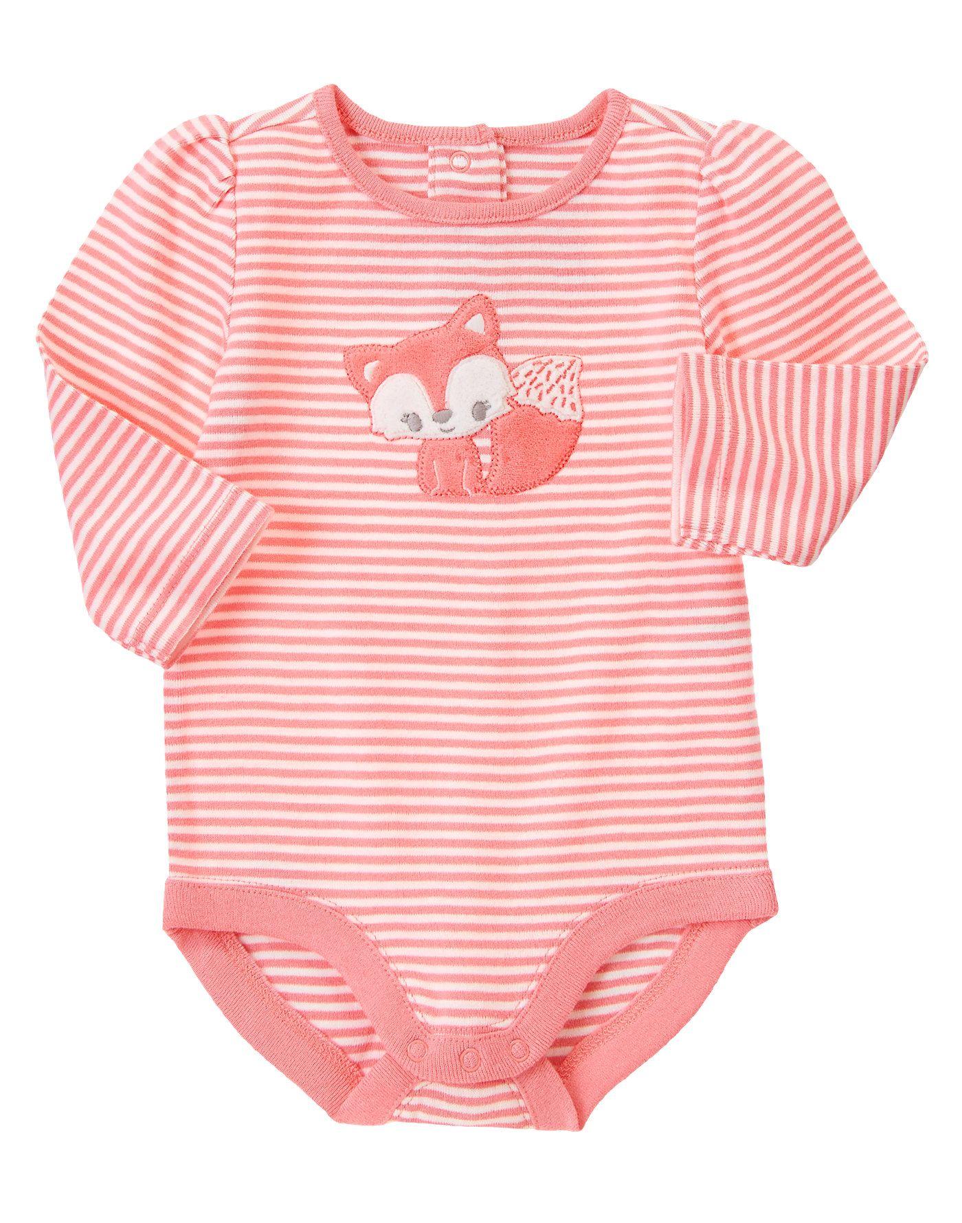 Baby Fox Bodysuit at Gymboree (Gymboree 0-24m) | Baby clothes ...