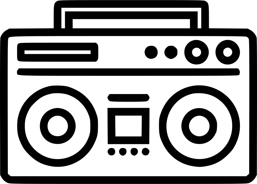 Boombox Logo Png in 2020 Boombox, Radio icon, Computer icon