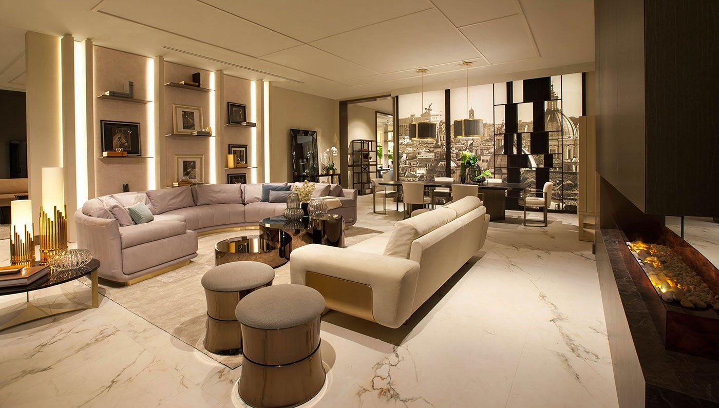 Luxury Living Group Showroom La Usa The Nearly 10 000