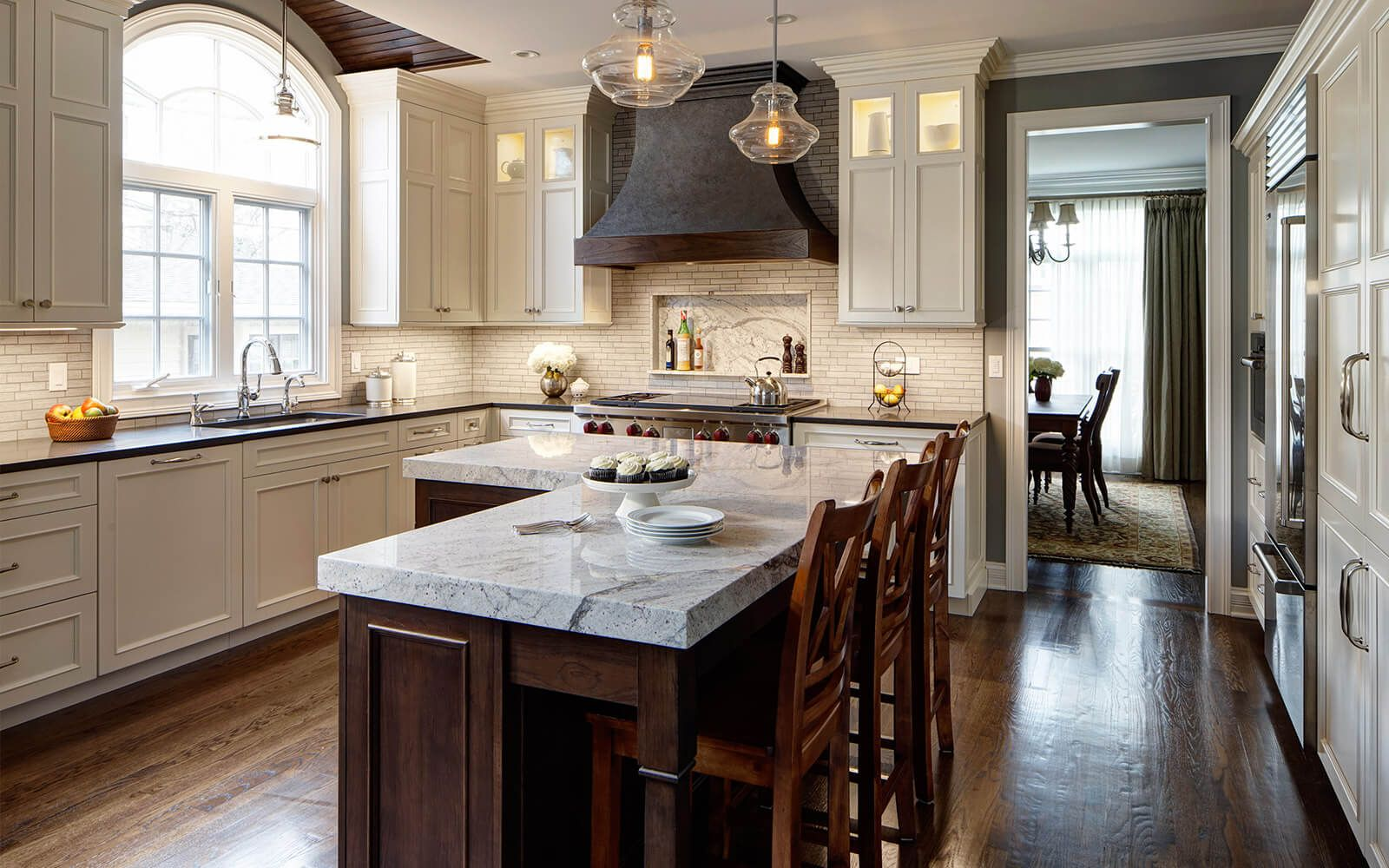 Traditional Kitchen Design - Drury Design | Transitional ...