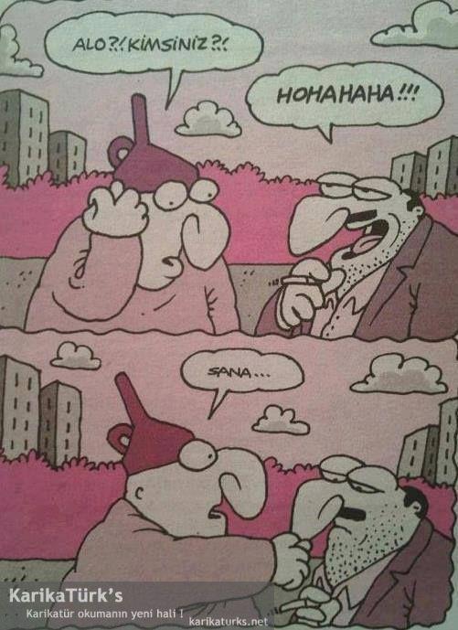 SANA. - Karikatür okuma'nın yeni hali !