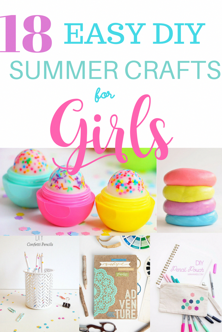 Photo of 18 Easy DIY Summer Crafts and Activities For Girls