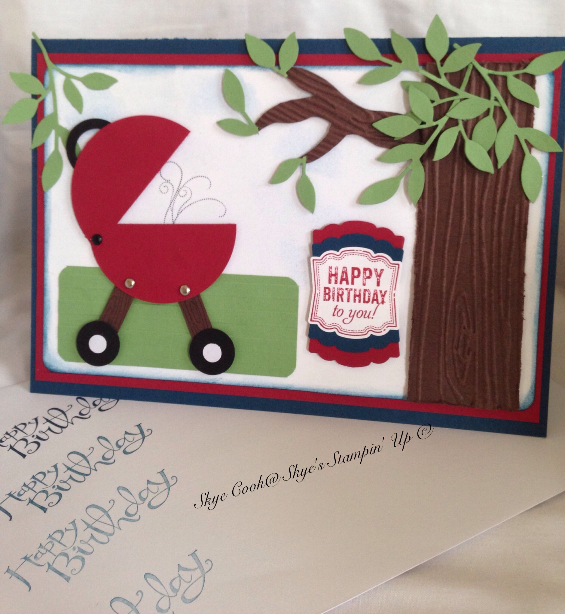 Male Birthday Card To See Other Stampin Up Products I Ve Used And