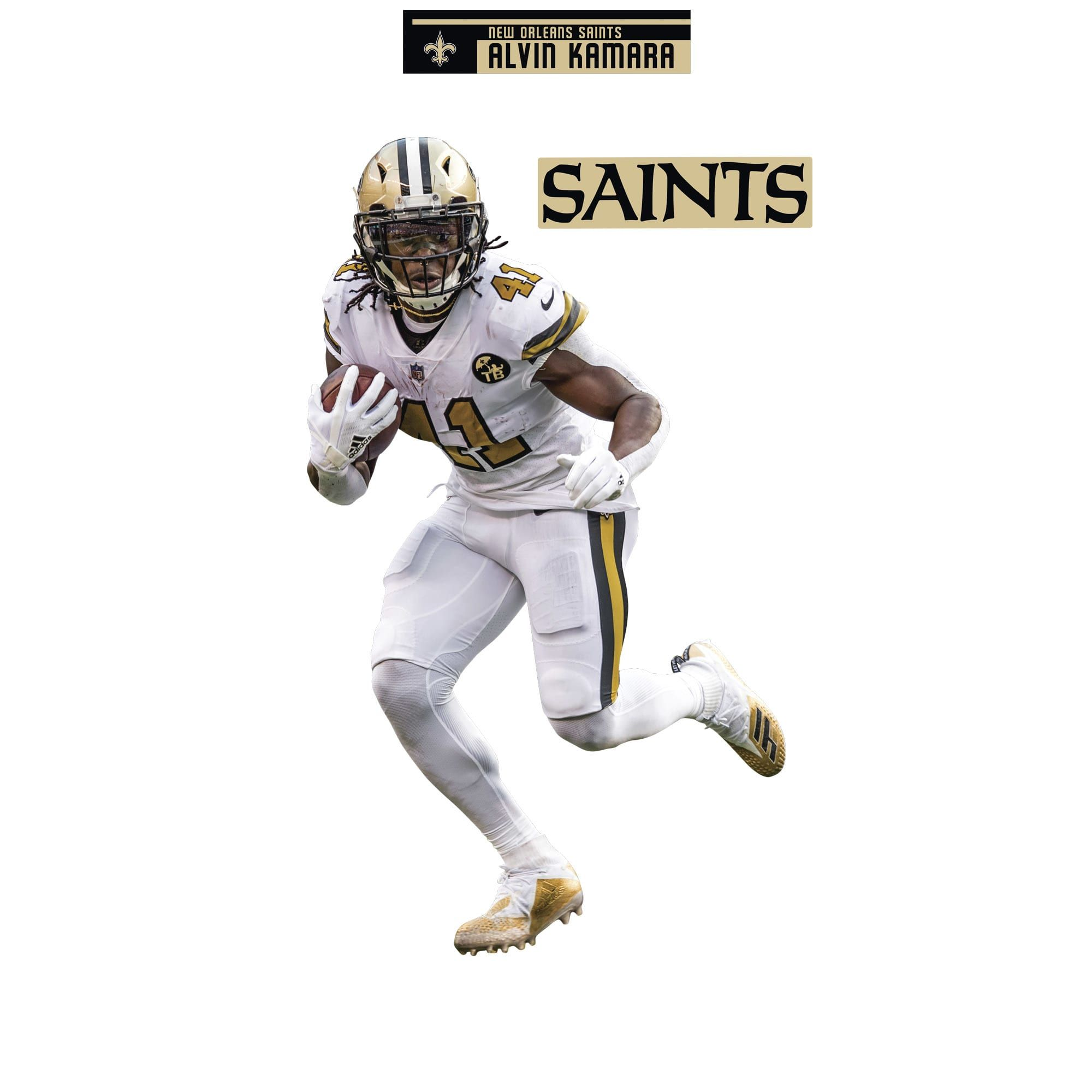sports shoes 0c24a d40d1 Alvin Kamara: Color Rush - Life-Size Officially Licensed NFL ...
