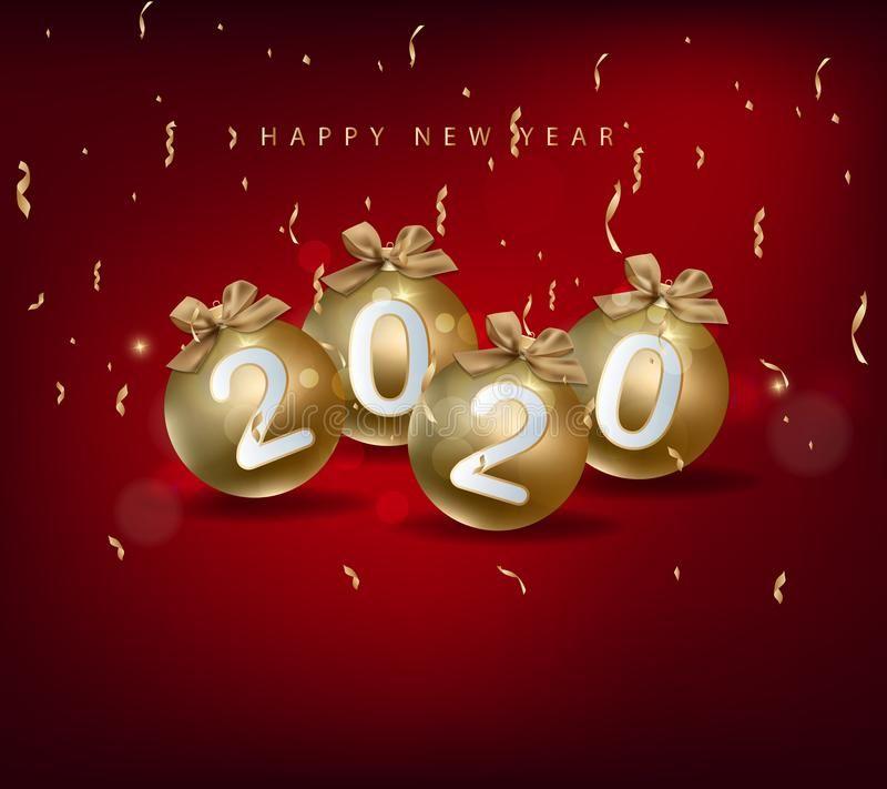Happy New Year 2020 Merry Christmas Happy Chinese New Year 2020