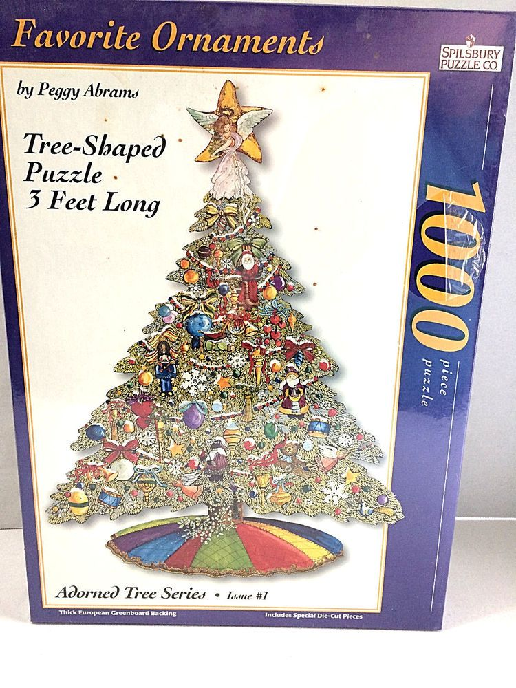 3 ft tree shaped puzzle 1000 pcs new sealed puzzle spilsbury publicscrutiny Image collections
