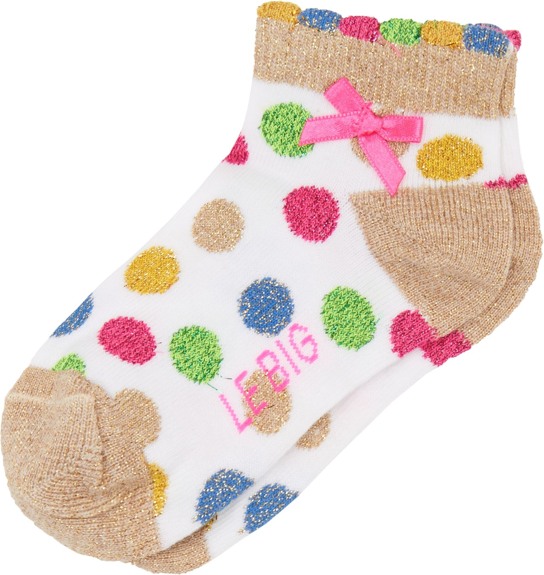 Shop The Le Big Girls Dot 2-Pack Socks In Pink At Elias & Grace. Browse The Cutest Girls Clothes From Premium Designers, Handpicked By Elias & Grace