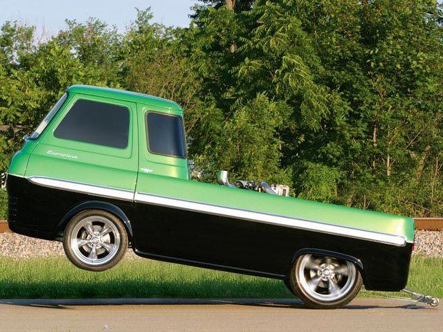 1965 Ford Econoline Pickup Left Side Angle