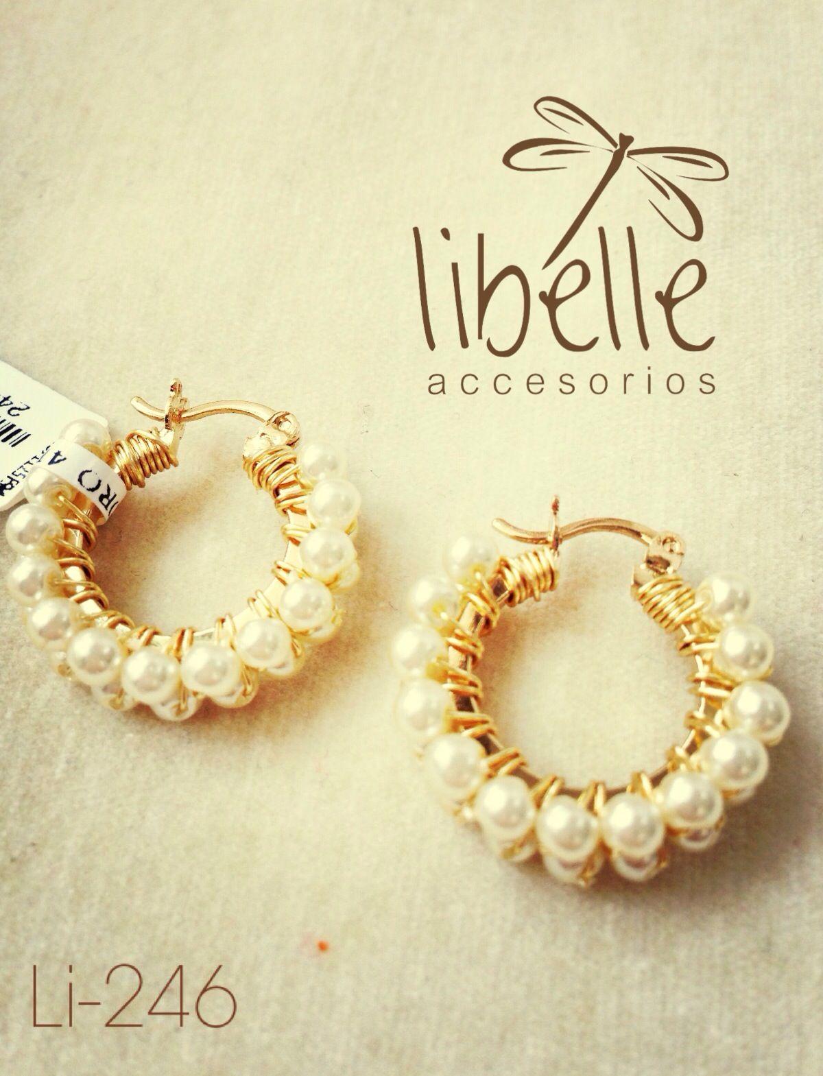 Arracadas de perlas | Joyeria | Pinterest | Jewelry ideas, Beads and ...