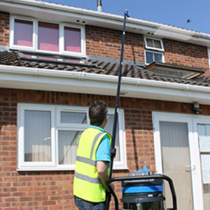 A Gutter Vacuum Is Exactly What It Sounds Like A Vacuum That Pulls Dirt And Debris Out Of Gutters For More Detail With Images Cleaning Gutters Gutters Gutter