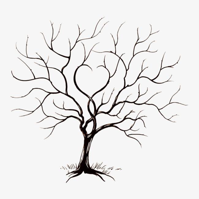 Pintado A Mano De Arboles Tree Vector Tree Bar Ramas Archivo