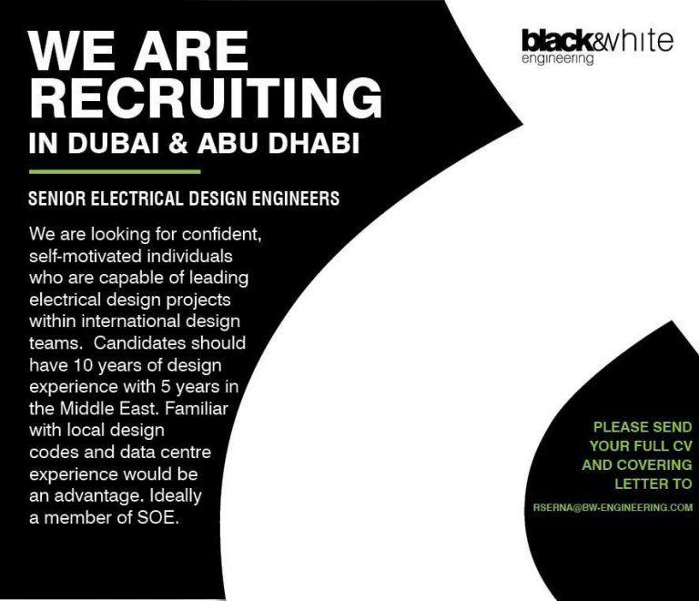 Electrical Design Engineers Uae Openings In 2020 Engineering Design Engineering Electricity