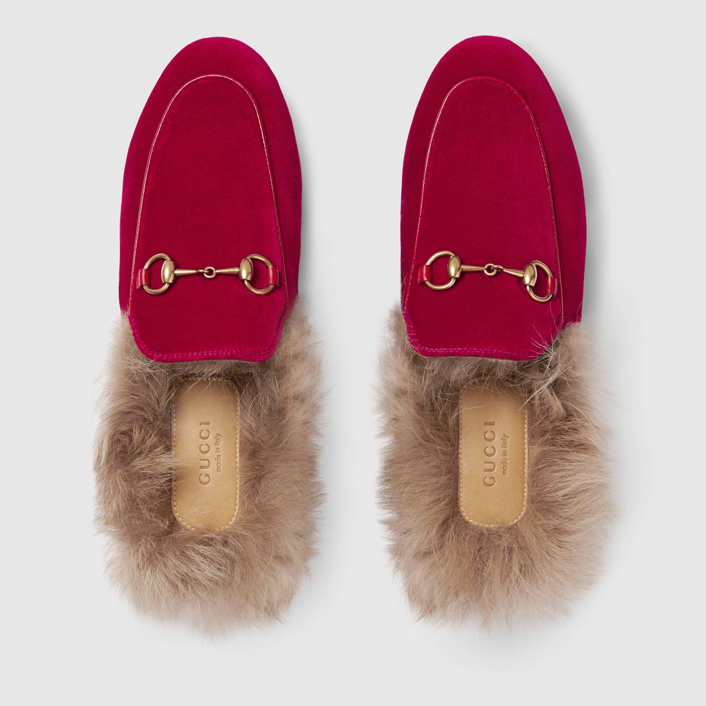 feb0f811e Gucci Princetown velvet slipper. Gucci Princetown velvet slipper Loafer  Mules, Loafer Flats ...