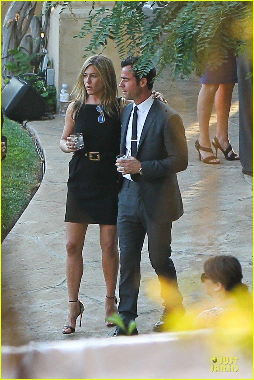 Jennifer Aniston Justin Theroux Jimmy Kimmel Wedding Guests Jen Aniston Style Jennifer Aniston Photos Fashion