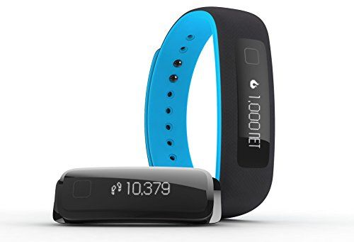 iFIT Vue Fitness Tracker, Black/Blue Fitness watches for