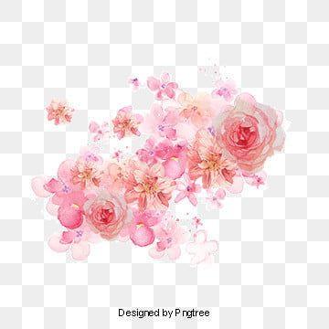 Lindas Flores E Pintando O Flor Guirlanda Borgonha Imagem Png E Psd Para Download Gratuito Watercolor Flower Background Flower Png Images Flower Clipart