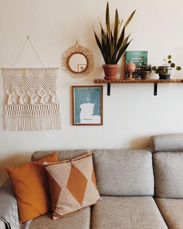P I N T E R E S T Savannahschills Room Wall Decor Wall Decor Living Room Boho Living Room Boho living room wall decor