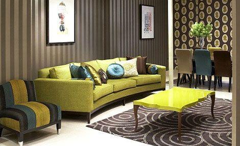brown-and-olive-green-luxury-decor Art et meubles Pinterest
