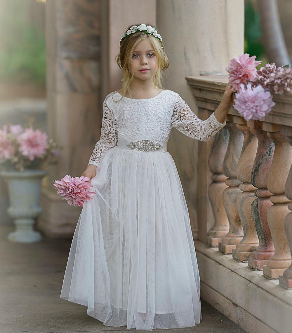 Off White Tulle Flower Girl Dress White Lace Flower Girl Etsy In 2020 Flower Girl Dresses Flower Girl Dresses Boho Flower Girl Dresses Tulle [ 1138 x 1000 Pixel ]