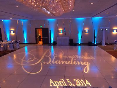 dance floor monogram by love in the mix san francisco bay area