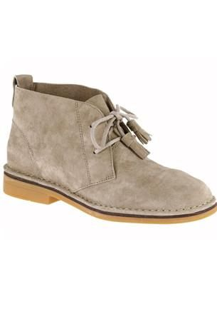 2cae17b2bcc Cyra Catelyn - Taupe Suede in 2019 | Hush Puppies | Boots, Hush ...