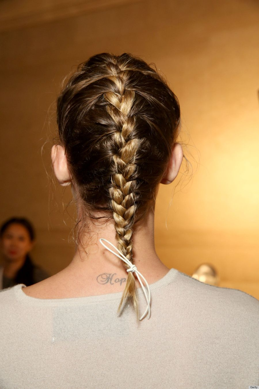 Braided spring hairstyles inspired from the runway