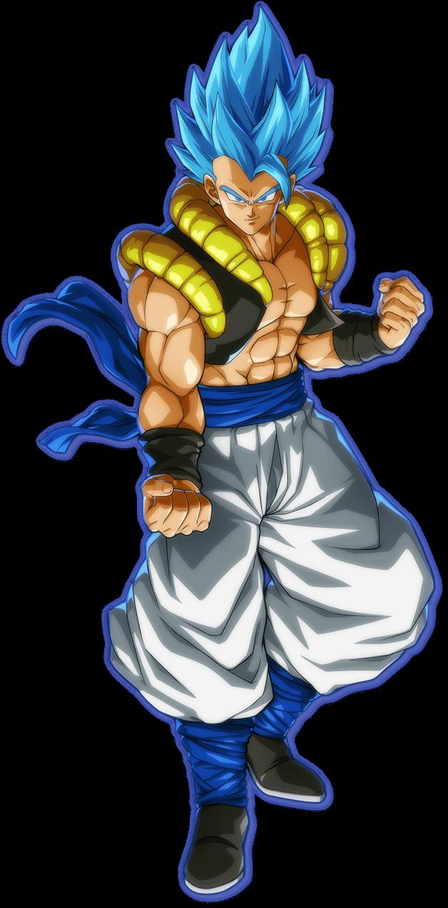 Gogeta Ssgss Broly Movie Render Fighterz By Maxiuchiha22 On Deviantart Sayajin 3 Anime Dragoes