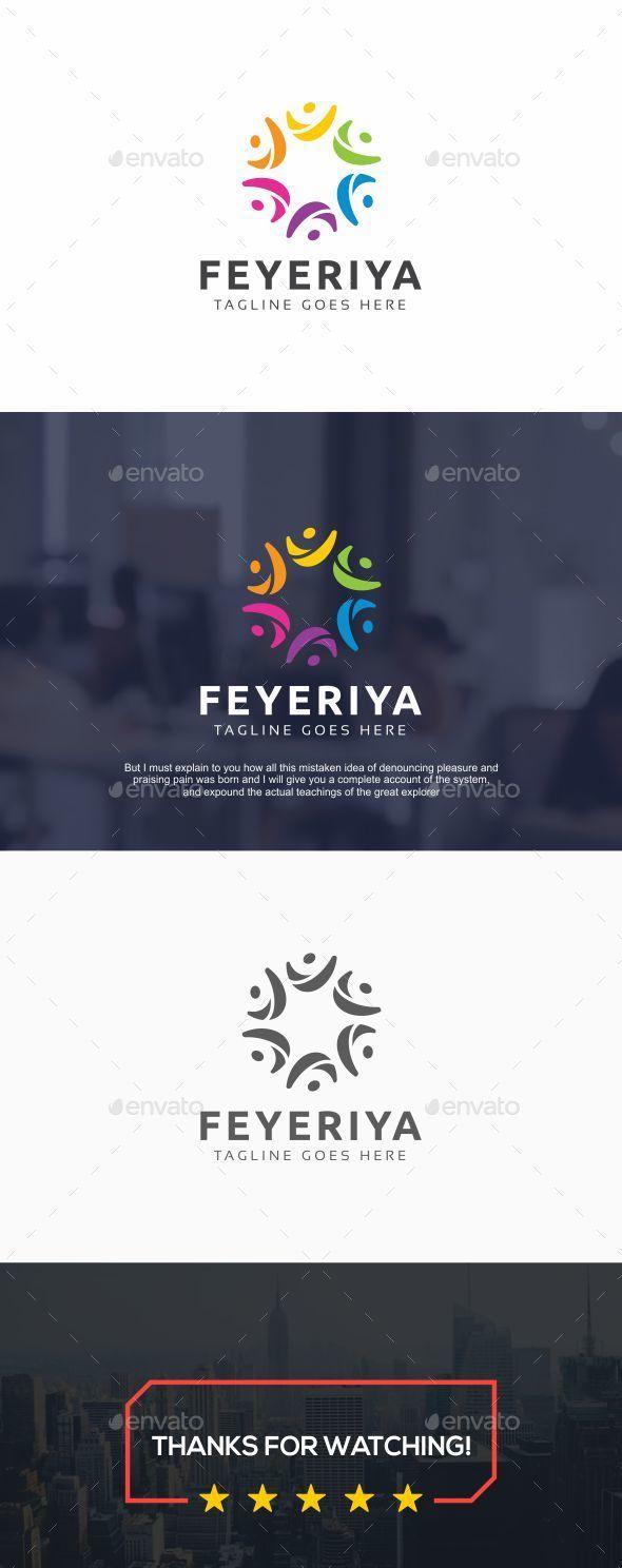 Feyeriya Happy Human Logo Happy Feyeriya Logo Human