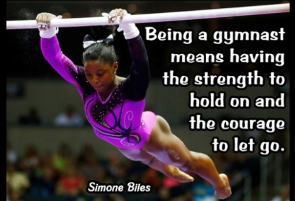 a5dde2a9e74c6 Being A Gymnast Means Having The Strength To hold on and the courage to let  go