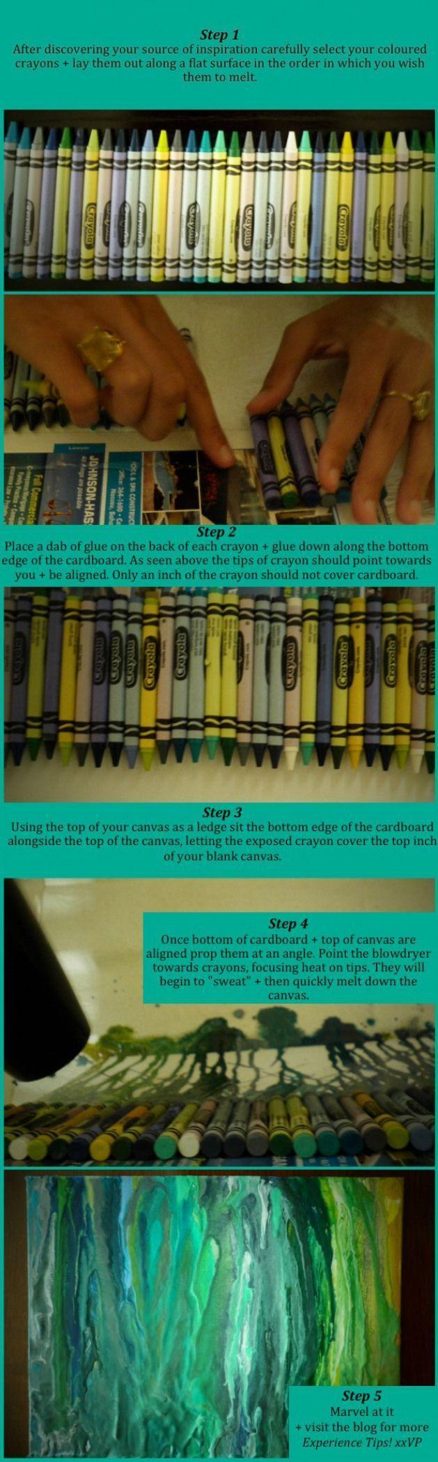 Photo of Melting Crayon Art Instructions # Freizeitraum # Freizeitraum #inspirati … –  …