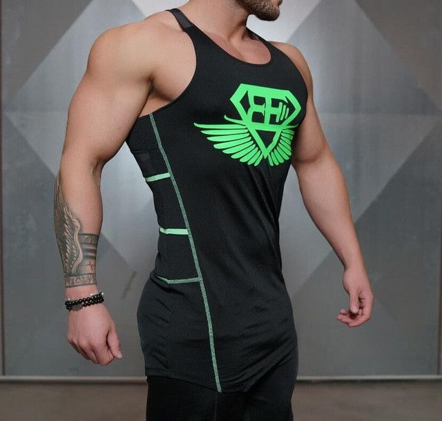 179de737 Fitness Men Tank Top Army Camo Camouflage Mens Bodybuilding Stringers Tank  Tops Singlet Brand Clothing Sleeveless Shirt