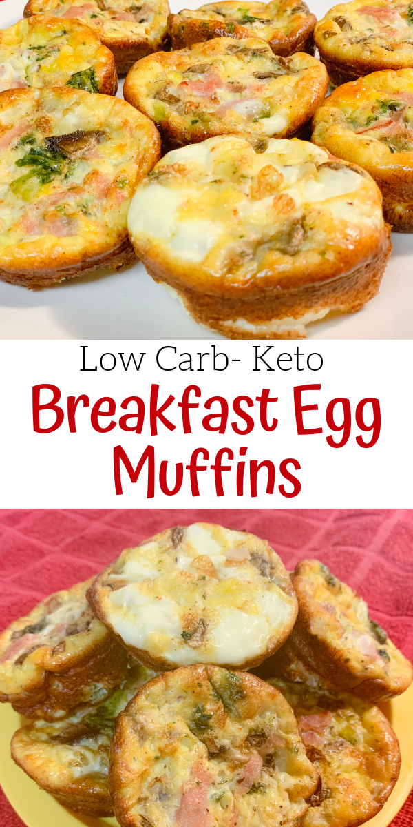 Low Carb-Keto Breakfast Egg Muffins images