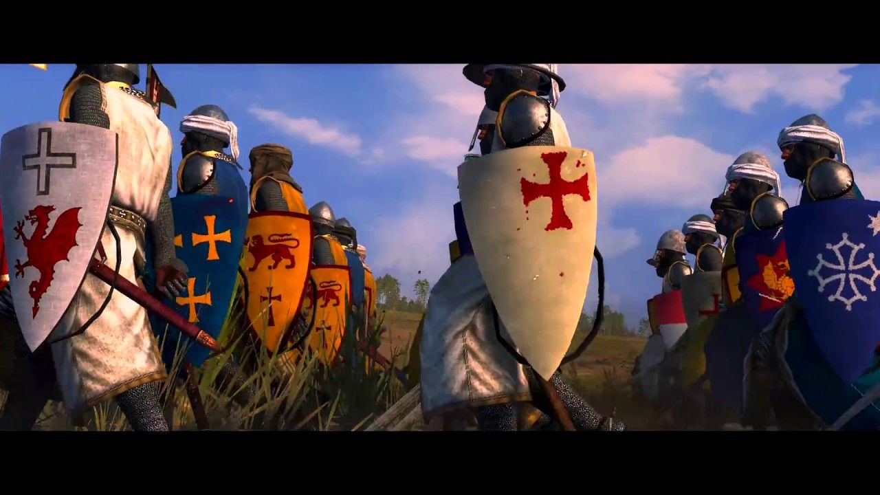 Battle of Arsuf 1191 AD | Total War: Attila Epic movie | Mod: Medieval K... #epicmovie