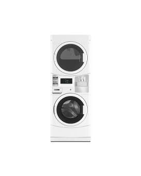 Maytag Mlg20pd Coin Operated Commercial Stacked Washer Gas Dryer