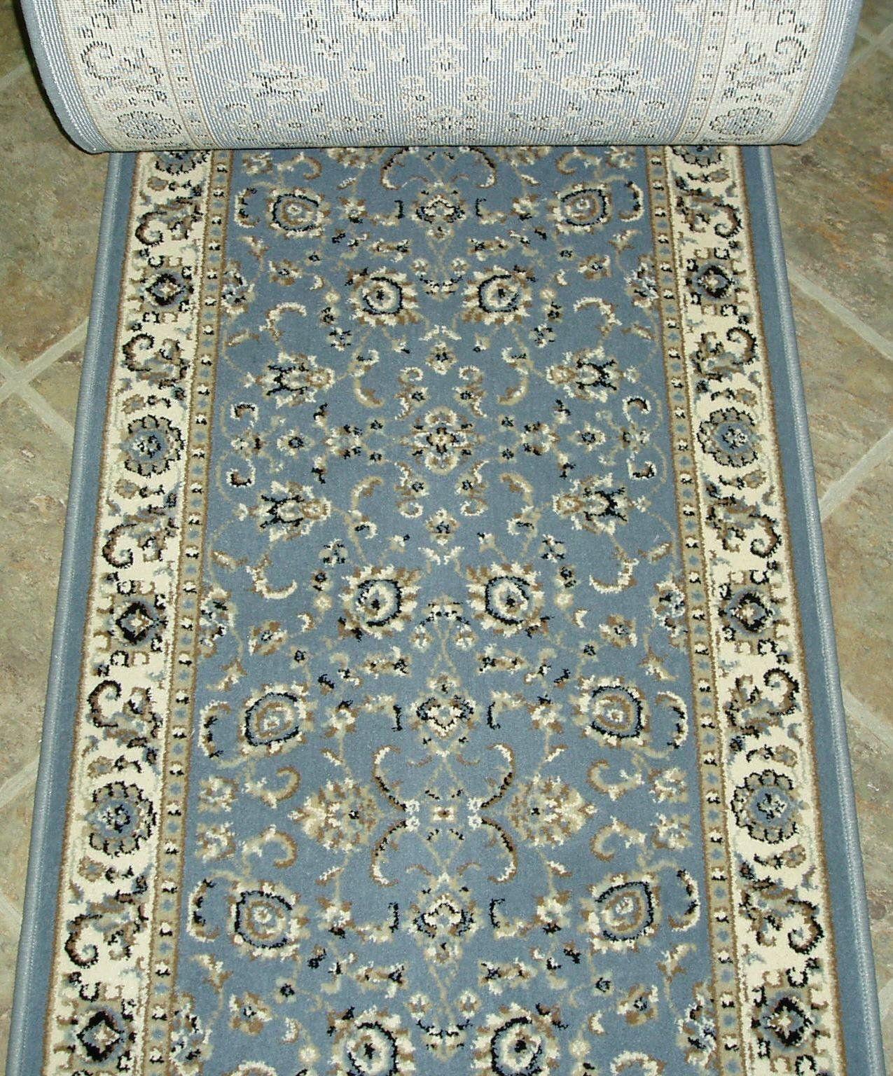 Best 153460 Rug Depot Radici Alba 1426 Grey Traditional Hall 400 x 300